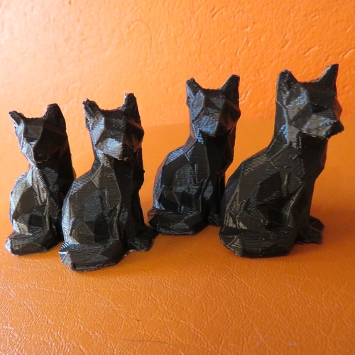 Low Poly Fox 3D Print 14033
