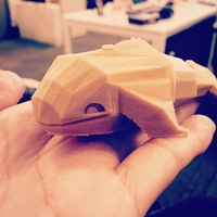 Small Whale Toy 3D Printing 1414