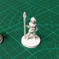 Small Fantasy Adventuring Party (18mm scale) 3D Printing 14191