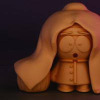 Small Spooky Stan Figurine 3D Printing 14198