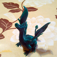 Small Adalinda: The Singing Serpent 3D Printing 14216