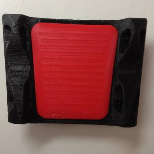 Adjustable Elbow Rest for mouse 3D Print 14295