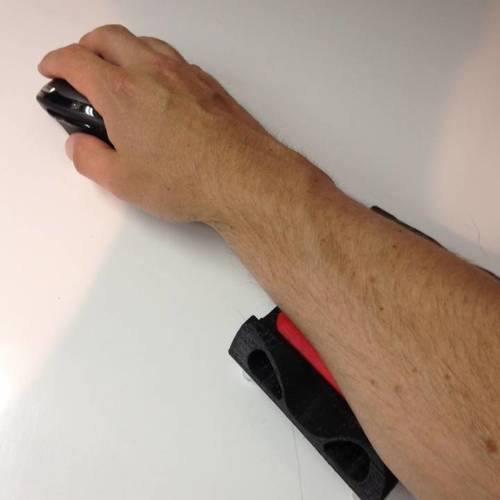 Adjustable Elbow Rest for mouse 3D Print 14296