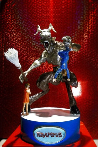 KRAMPUS   Halloween/Xmas decoration R/C controlled  (WIP) 3D Print 14336
