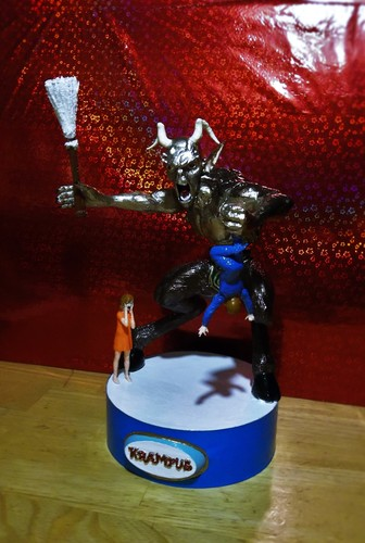 KRAMPUS   Halloween/Xmas decoration R/C controlled  (WIP) 3D Print 14337