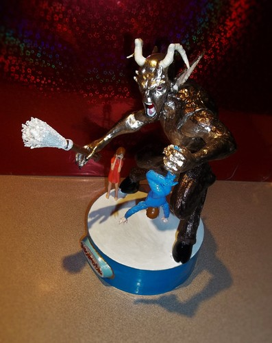 KRAMPUS   Halloween/Xmas decoration R/C controlled  (WIP) 3D Print 14340