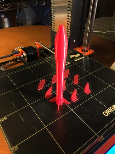 Rocket Science -- Canned Air Rocket 3D Print 14346