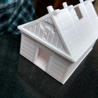 Small Viking House 3D Printing 14403