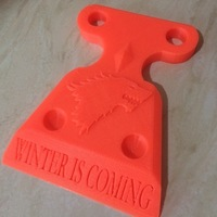 Small  Stark Ice Scrapper 3D Printing 14405