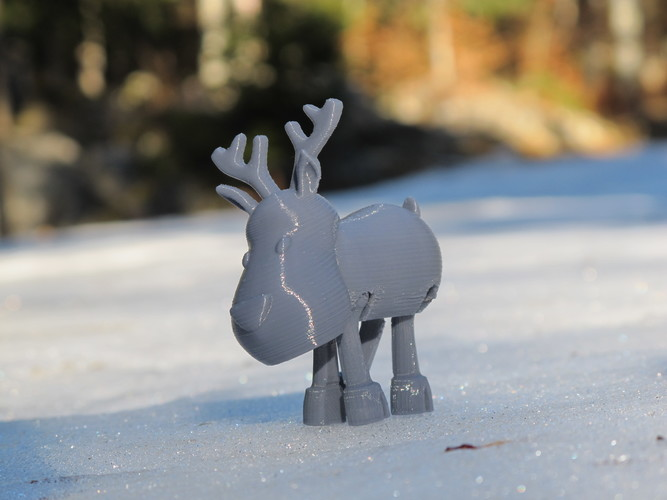 Articulated Christmas Toys 3D Print 14416