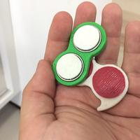 Small fidget spinner for people with short fingers 3D Printing 14472