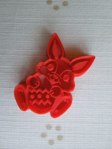 Easter Bunny Cookie Cutter 3D Print 14564