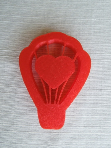 Love Ballon Cookie Cutter 3D Print 14575