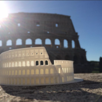 Small Roman Colosseum  3D Printing 14593
