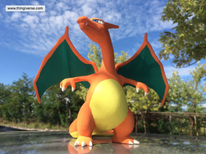CHARIZARD - Pokemon 3D Print 14594