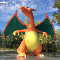 Small CHARIZARD - Pokemon 3D Printing 14594