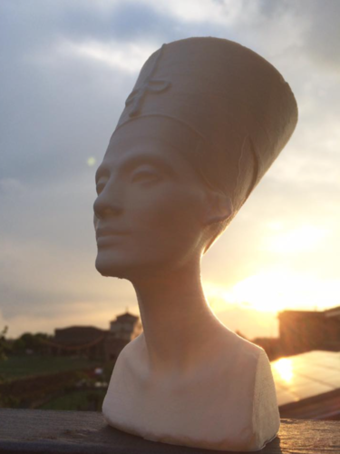 Bust of Nefertiti-Real 3d scan  3D Print 14596
