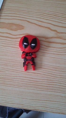 "Deadpool ""Feel The Love"" Magnet 3D Print 14622"