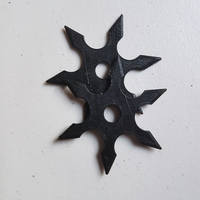 Small Ninja Shurikens 3D Printing 14682