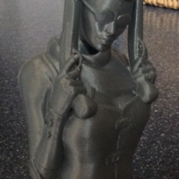 Small Steampunk Lady : Zorana 3D Printing 14690
