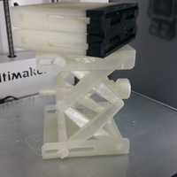 Small Platform Jack [Fully Assembled, No Supports] 3D Printing 14702