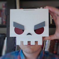 Small SkullFace Mask from Slayaway Camp 3D Printing 14704