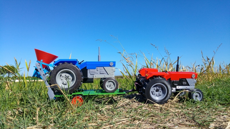 OpenRC Tractor 3D Print 14721
