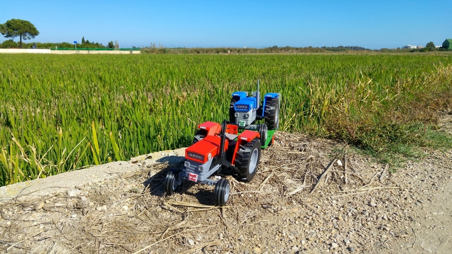 OpenRC Tractor 3D Print 14722