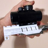 Small SKS scope mount (picatinny rail) 3D Printing 14734