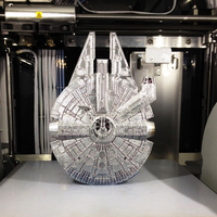 Small Millenium Falcon 3D Printing 14804