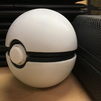 Small Pokeball (opens and closes) 3D Printing 14828