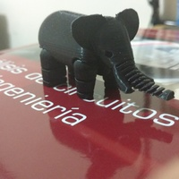 Small Elephant 3D Printing 14834