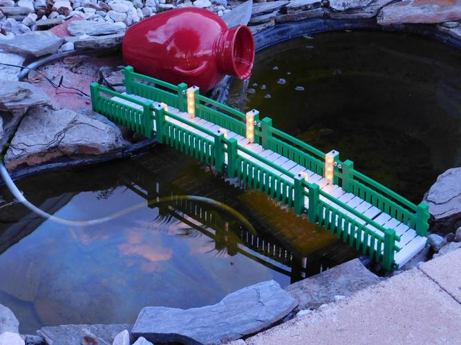 Garden Walk Bridge 3D Print 14896