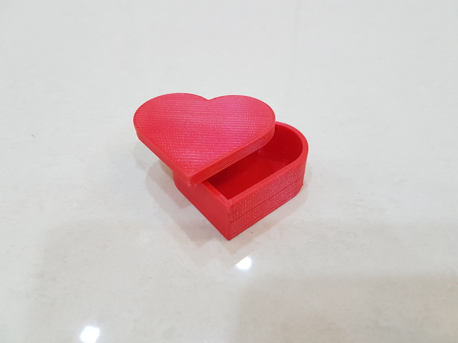 Heart jewelry box 3D Print 14903