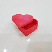 Small Heart jewelry box 3D Printing 14903