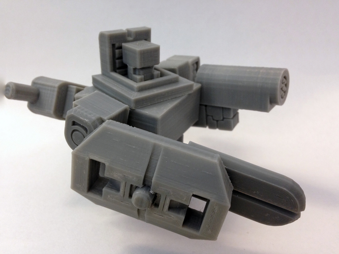 Mech City: Equipment Expansion Set 3D Print 15003