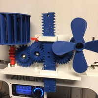 Small Wind Energy Stored In Gravity 3D Printing 15034