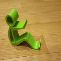 Small Phone holder Phone stand 3D Printing 15052