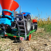 Small OpenRC Tractor fertilizer 3D Printing 15102