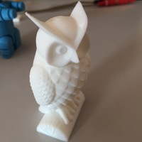 Small Owl 3D Printing 15130