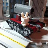 Small Mech City: Vehicle Set 3D Printing 15168