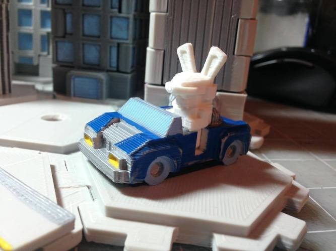 Mech City: Vehicle Set 3D Print 15170