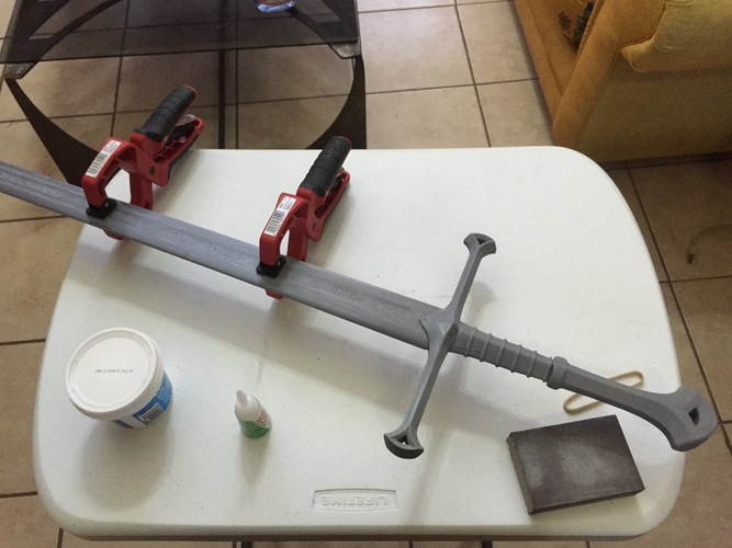 Andúril (Aragorn's sword) - Lord of The Rings 3D Print 15209