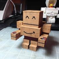 Small Mech City: Prototype Mech Bloxy 3D Printing 15453