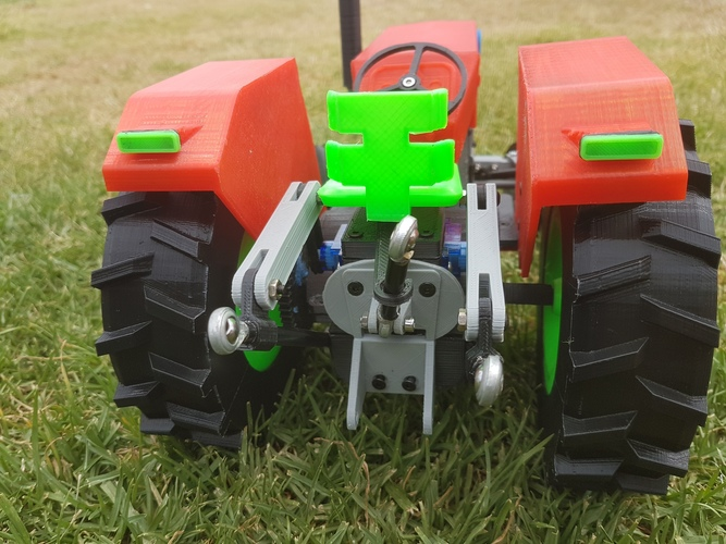 OpenRC Tractor 3D Print 15463