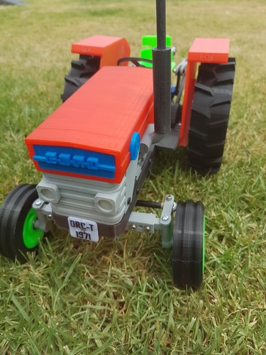 OpenRC Tractor 3D Print 15465