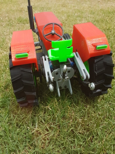 OpenRC Tractor 3D Print 15466
