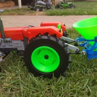 Small OpenRC Tractor fertilizer 3D Printing 15567