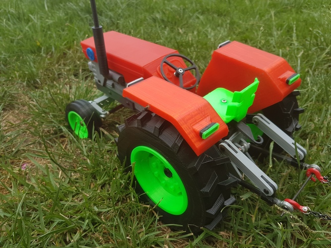 OpenRC Tractor 3D Print 15574