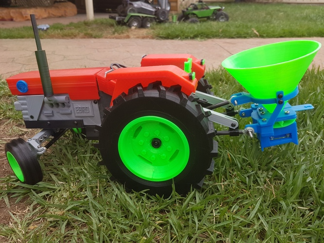 OpenRC Tractor 3D Print 15575